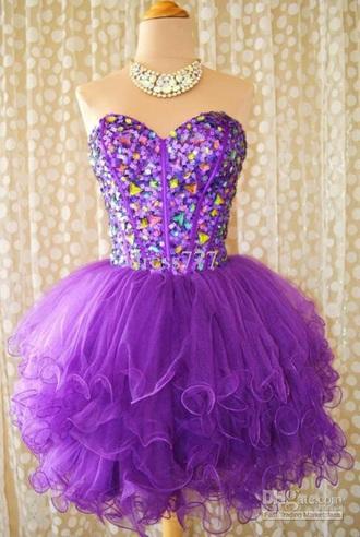 dress purple purple dress party dress