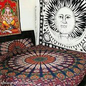 home accessory,multimatecollection,indian tapestries,large duvet cover set,bohemian,mandala hippie tapestry,boho chic duvet cover