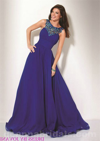 Please buy Jovani 1799 Halter Natural Waist A-Line Prom Dress from deannabridals.com