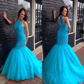dress,prom,prom dress,blue,blue dress,sky blue,mint dress,trendy,girl,girly,fashion,style,stylish,love,lovely,pretty,sweet,chic,vogue,long,long dress,maxi,maxi dress,floor length dress,special occasion dress,mermaid prom dress,long prom dress,fabulous,gorgeous,sexy dress,cute dress,cute,sleeveless,sleeveless dress,event,evening dress