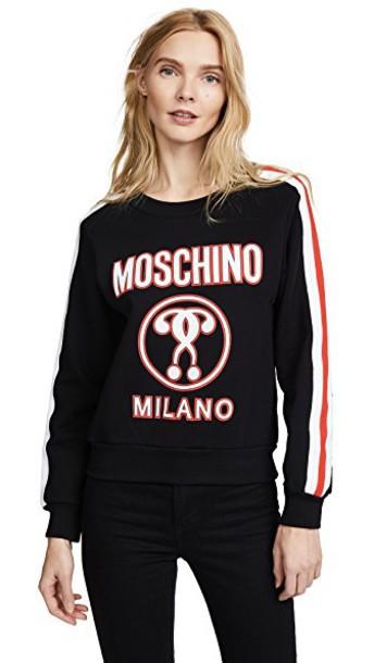 Moschino sweatshirt black sweater