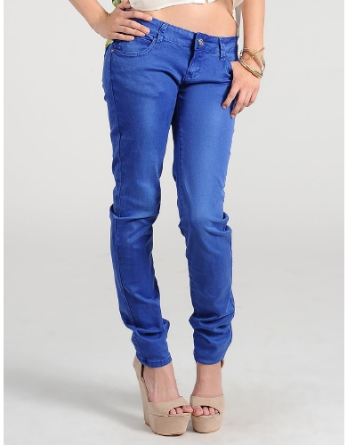 Royal Court Skinny Jeans  | $14.50 | Cheap Trendy Jeans Chic Discount Fashion for Women | ModDeals.c