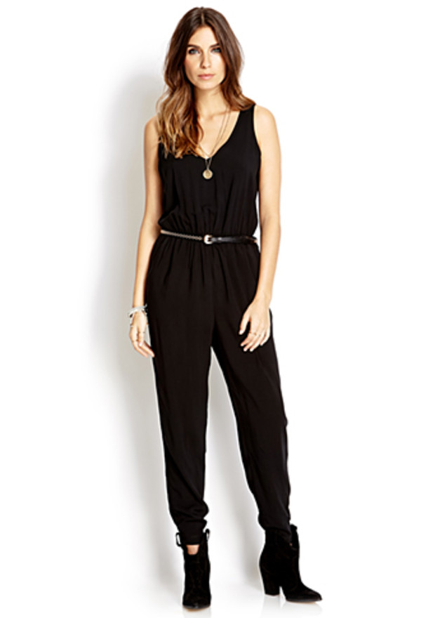 pants black jumpsuit