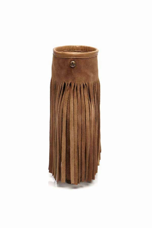 d51d01bcf76 Koolaburra Veleta Wedge Heel Fringe Boot in Chestnut
