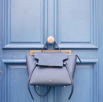 bag pastel pastel bag belt bag celine bag celine designer designer bag light blue blue bag