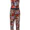 Diesel - floral print jumpsuit - women - viscose - xs, viscose