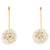 Coconut Plumeria Drop Earrings