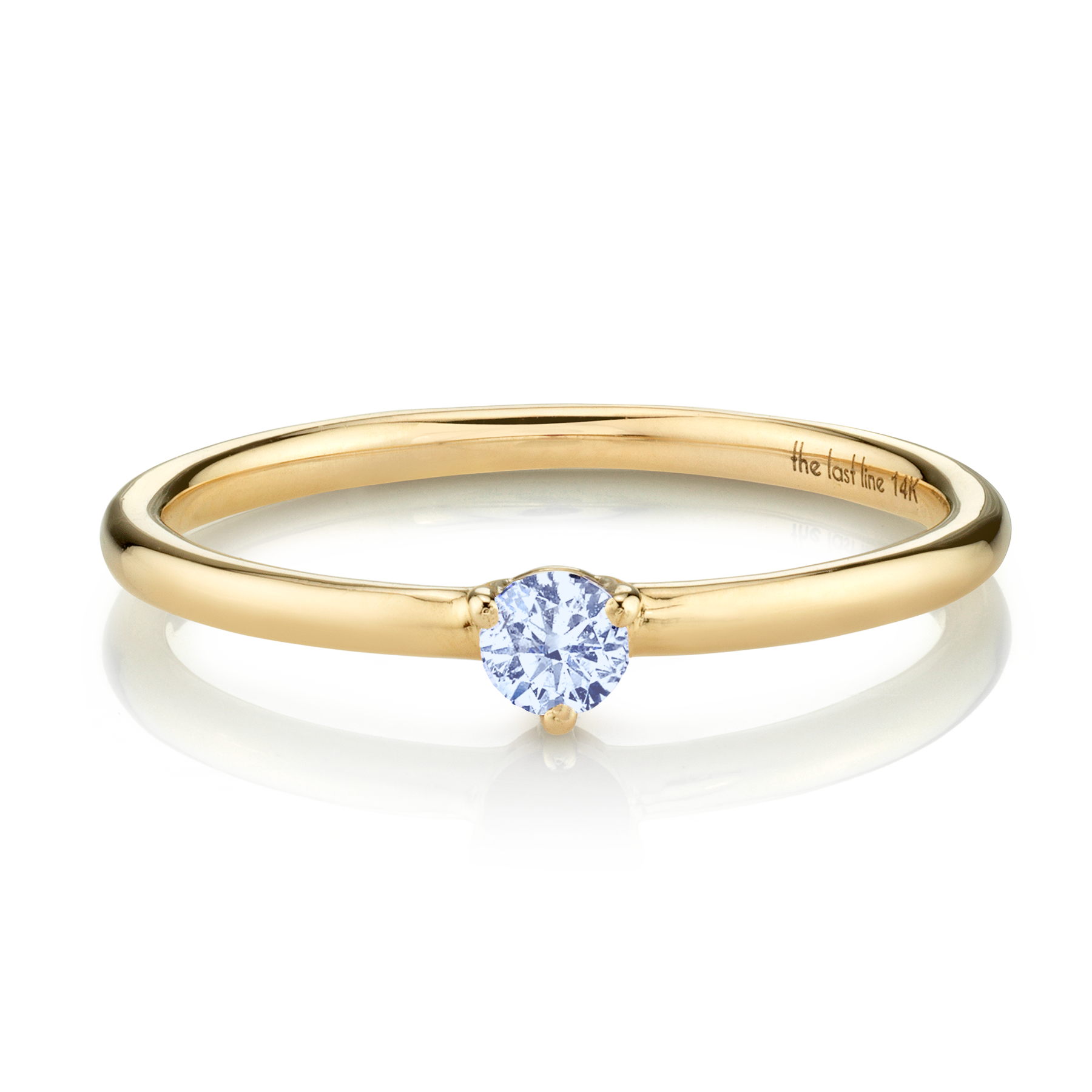 DECEMBER BIRTHSTONE SOLITAIRE RING