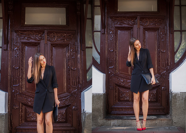 1d8517e4738c95 Haute Hippie Oversized Blazer Dress | SHOPBOP