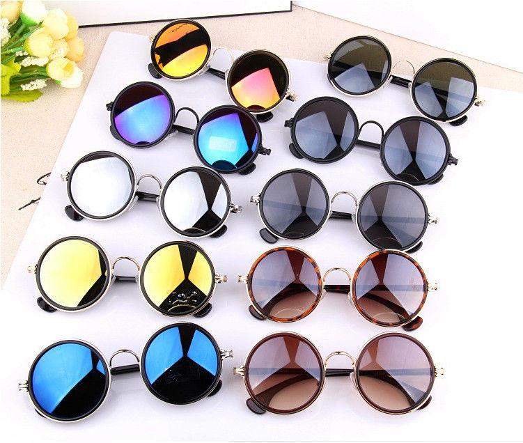 Designer Vintage Retro Round Style Lens Fasion Sunglasses Free Case 4500 | eBay