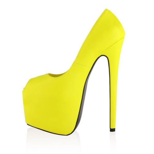 Ladies Peep Toe Womens Concealed Platform 7 Inch Stiletto Heel Shoes Size 5-10