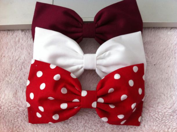 swimwear black bikini bandeau bikini bikini bandeau bikini jewels red white polka dots cut hair bow gold