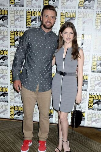 dress anna kendrick high heels sandal heels sandals bag summer summer dress summer outfits shoes jewels