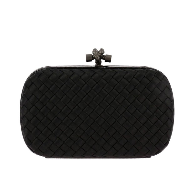 Bottega Veneta women bag clutch shoulder bag black