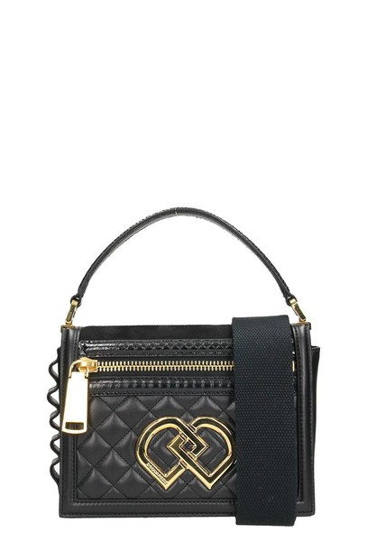 Dsquared2 quilted bag shoulder bag black