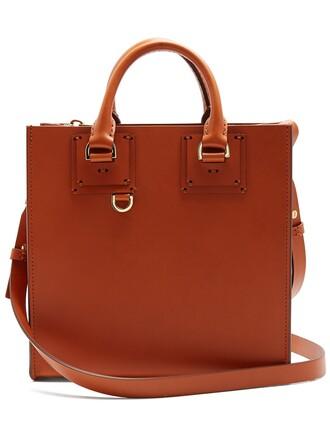 bag tote bag leather tote bag leather tan