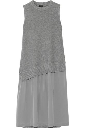 dress silk wool