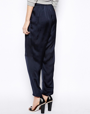Monki | Monki Satin Trouser at ASOS