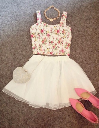 skirt white short flowy skirt sheer