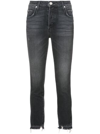 jeans cropped jeans cropped women spandex babe cotton black
