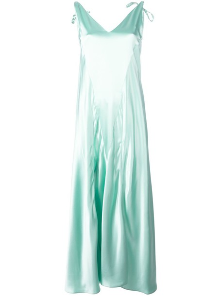 Attico dress women green