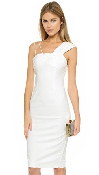 Talulah dress midi dress midi white