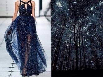 dress galay space runway dress runway black dress long dress prom dress print flowy dress