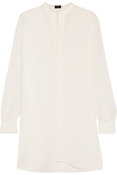 Joseph blouse white silk top