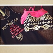 top,sports bra,tank top,workout,workout top,fitness,gym clothes,pink,gym,bra