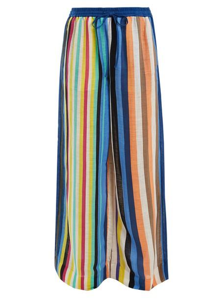 Diane Von Furstenberg blue pants