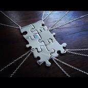 jewels,puzzle,friendship necklace,necklace,friendship