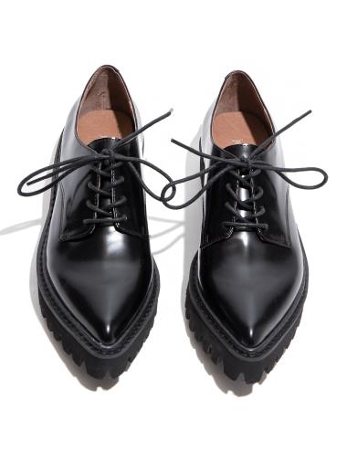 Jeffrey Campbell Seymour Black Oxford Shoes