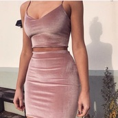 dress,nude dress,nude,pink,bodycon dress