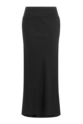 skirt mermaid black