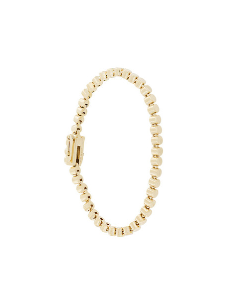 beaded bracelet women beaded grey metallic jewels