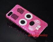 phone cover,dog iphone 7 plus case,swarovski crystal dog iphone 7 plus case,swarovski crystal iphone 7 plus case