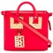 Sophie hulme 'box albion' shoulder bag, women's, red
