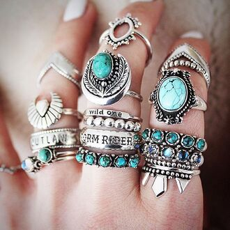 jewels shop dixi sterling silver rings turquoise