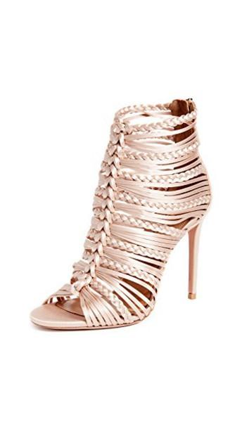 Aquazzura sandals pink shoes
