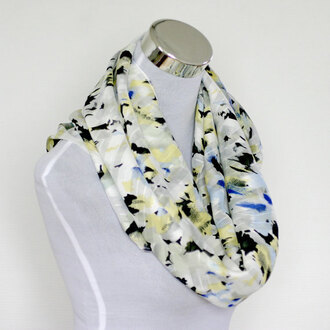 scarf infinity scarf printed scarf