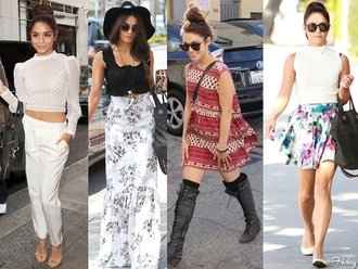 skirt vanessa hudgens maxi skirt floral skirt black boots sun hat bag dress sunglasses red lime sunday shirt