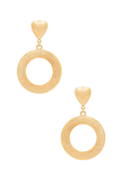Frasier Sterling earrings metallic gold jewels