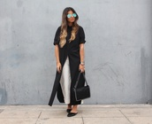 style by nelli,blogger,pants,shirt,dress,jewels,bag