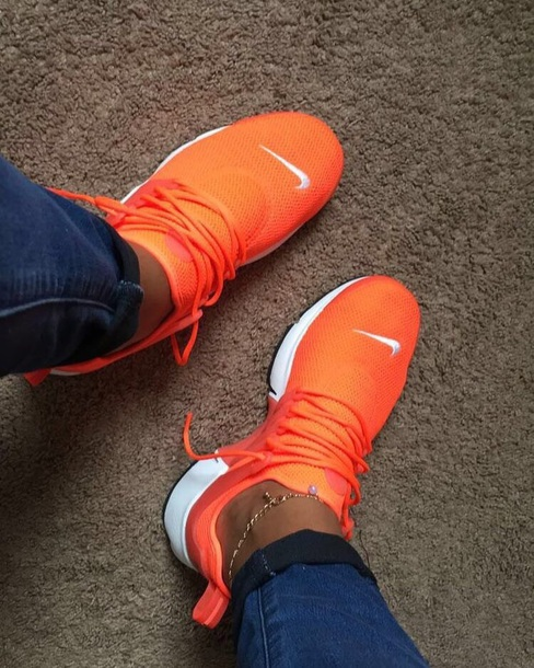 d17d1f973691 shoes nike nike shoes air presto orange nike air presto white nike presto  orange shoes orange
