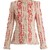 Frayed-hem tweed blazer