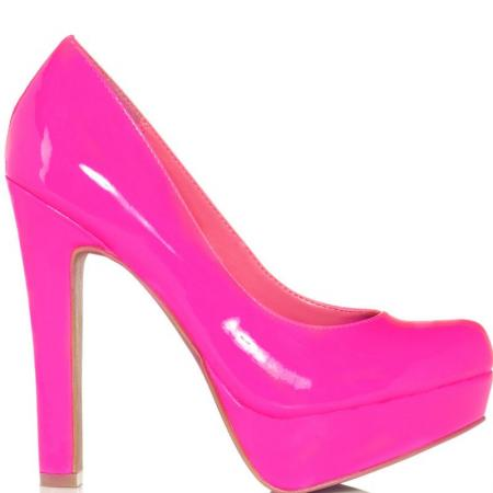 JustFab's Pink Liz - Hot Pink for 59.99 direct from heels.com