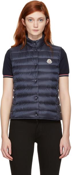 moncler vest navy jacket