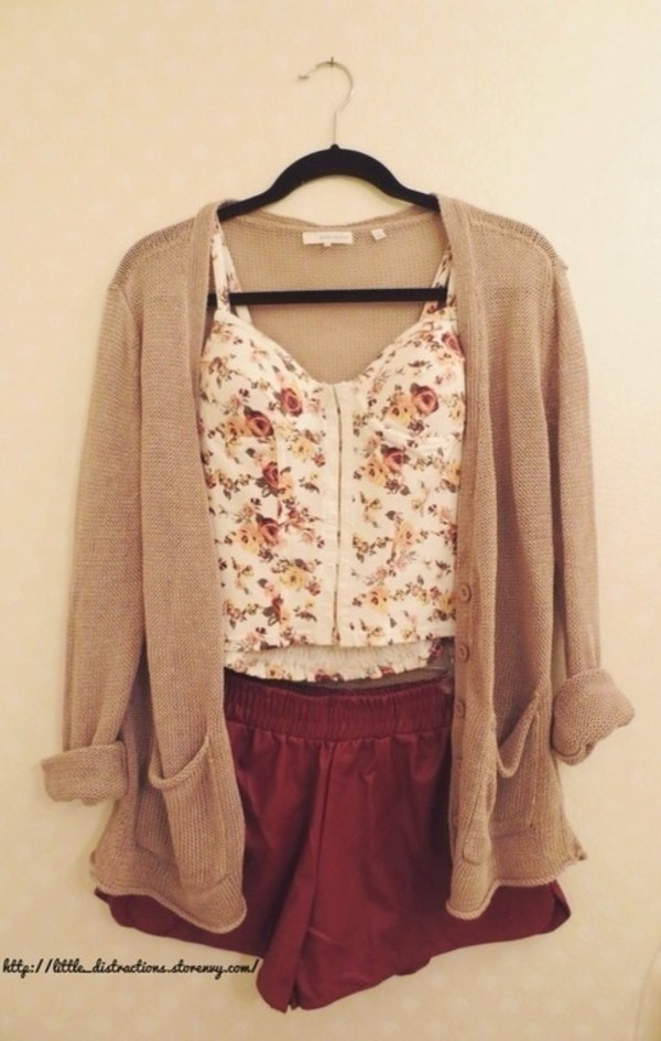 fancy brown sweater outfits 9