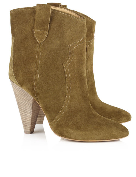 Isabel Marant etoile boots suede brown