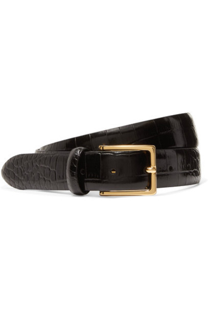 ANDERSON'S belt leather black
